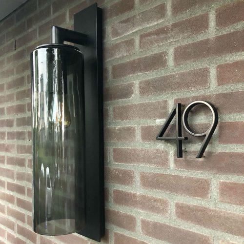 Amato-zwart-huisnummers-lamp