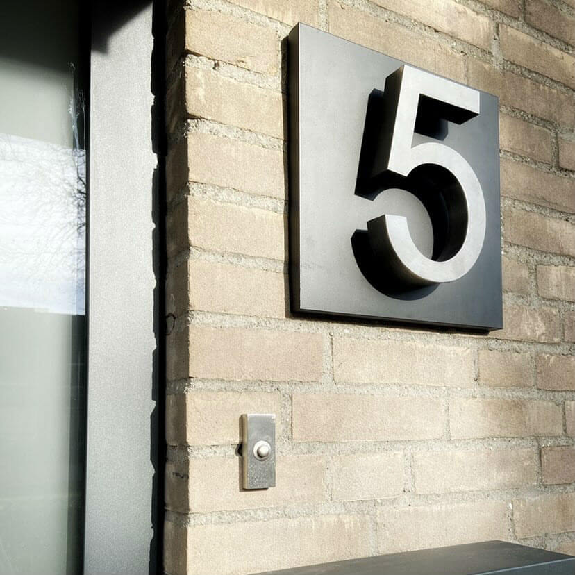 Moreno-RVS-huisnummer