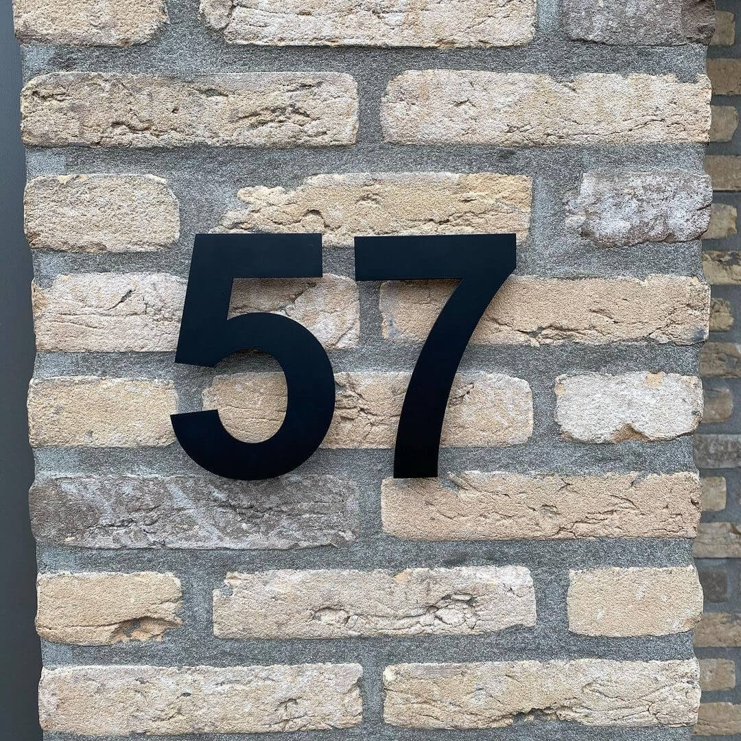 Black-house number-stainless-steel-57