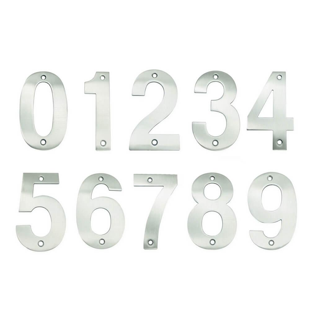 huisnummers chrome 10cm tonio yessential