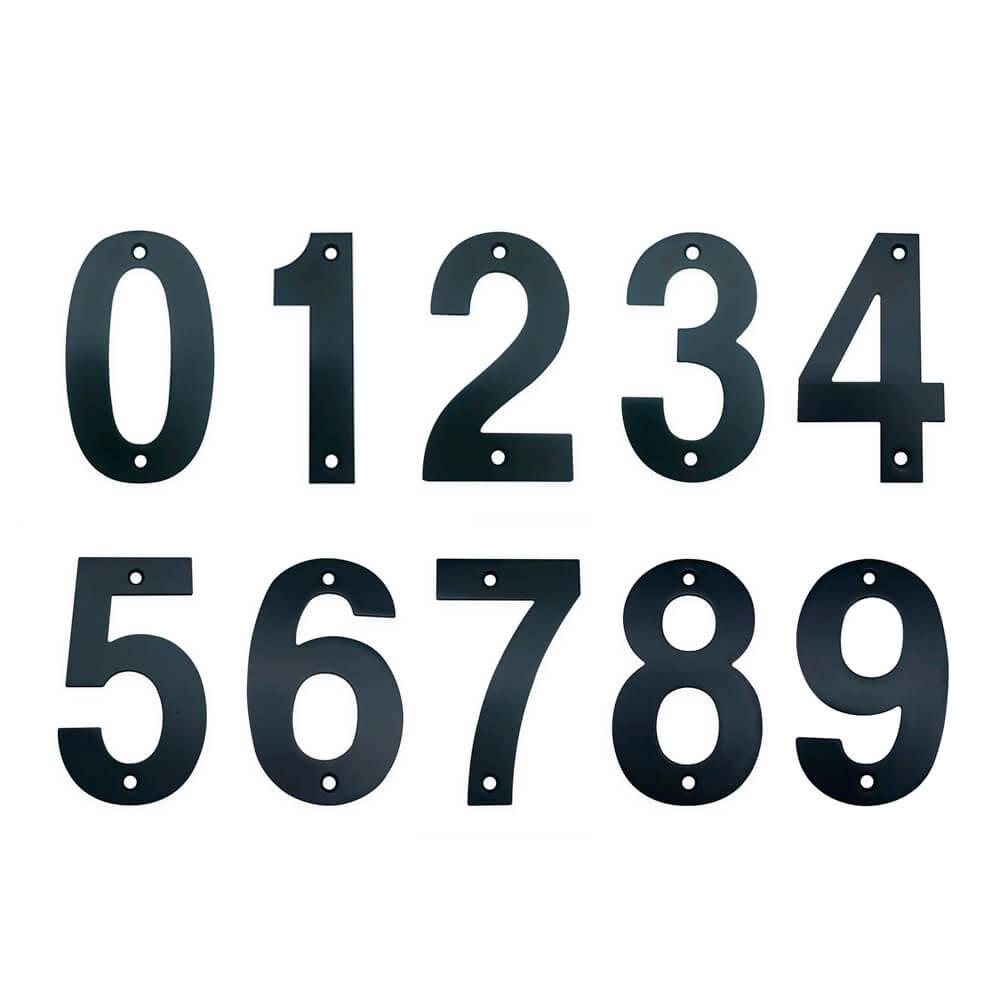 huisnummers zwart 10cm tonio yessential