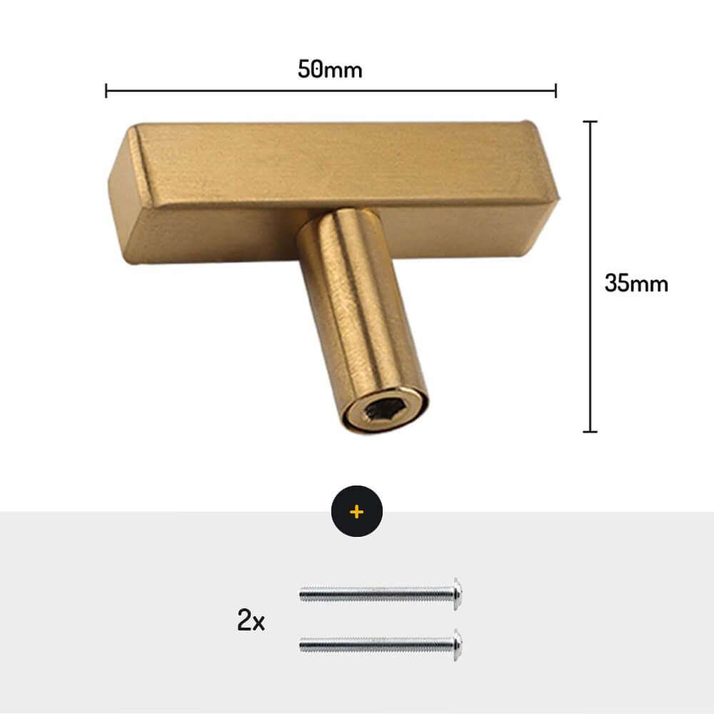 Kastknoppen-goud-handgreep-50mm-vierkant