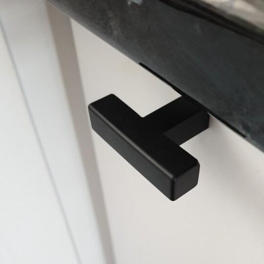 Meubelknop-zwart-vierkant-ladeknop-50mm