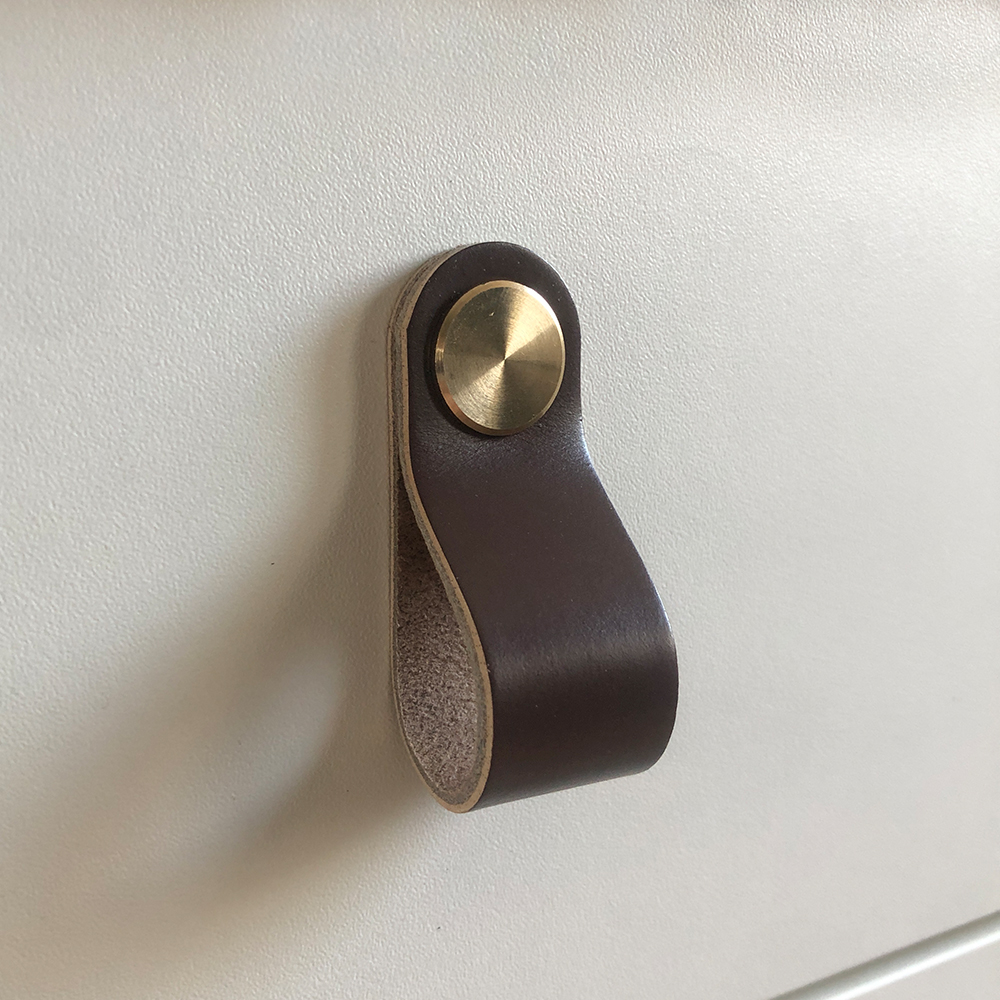 Luciano Darkbrown deurknop knob in keuken